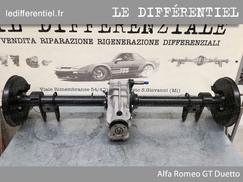 Differentiel Alfa Romeo GT Duetto 1