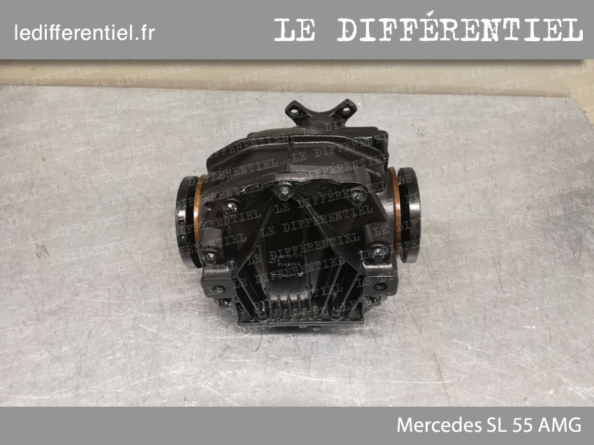 Differentiel arriere Mercedes SL 55 AMG 2