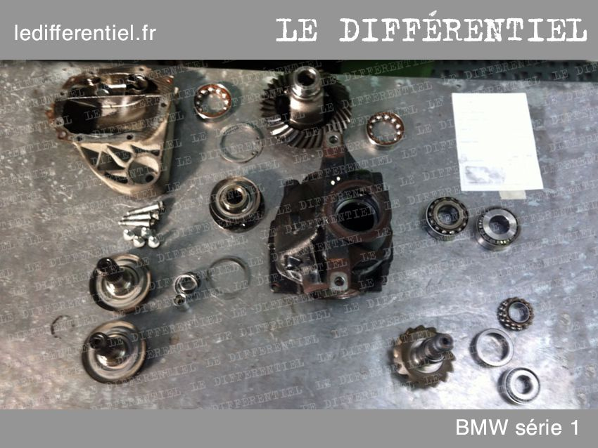 differentiel bmw serie1 demonte